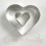 Heart in Heart Cookie Cutter