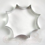 Spider Web Cookie Cutter - 6""