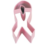 Awareness Ribbon Cookie Cutter - Pink THUMBNAIL