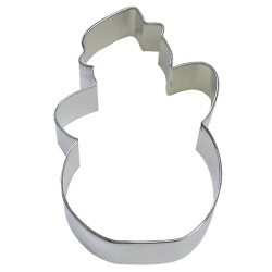 "Snowman Cookie Cutter - 5"" LARGE"