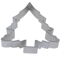 "Christmas Tree Cookie Cutter - 4-3/4"" Full LARGE"