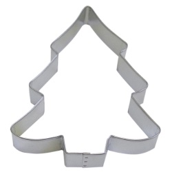 "Christmas Tree Cookie Cutter - 5-1/8"" LARGE"