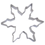 "Snowflake Cookie Cutter - 5"" Narrow THUMBNAIL"