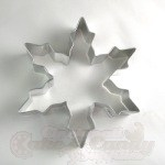 "Snowflake Cookie Cutter - 5"" Narrow"