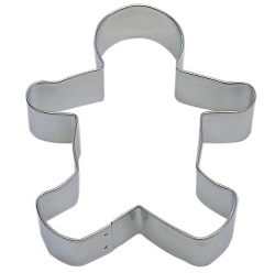 "Gingerbread Boy Cookie Cutter - 5"" LARGE"