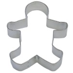 Gingerbread Boy Cookie Cutter - 5""