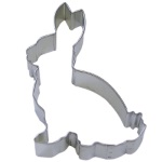 Bunny Cookie Cutter - 5""