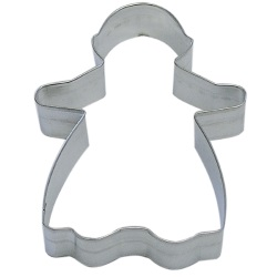 "Gingerbread Girl Cookie Cutter - 5"" LARGE"