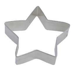 "Star Cookie Cutter - 4 1/2"" LARGE"
