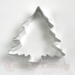 christmas tree cookie cutter 3 12 full view enlarged image