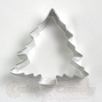 "Christmas Tree Cookie Cutter - 3-1/2"" Full"
