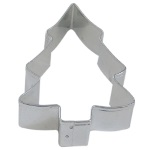 "Snow Covered Christmas Tree Cookie Cutter - 3 1/2"" THUMBNAIL"
