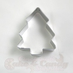 Snow Covered Christmas Tree Cookie Cutter - 3 1/2""