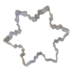 "Snowflake Cookie Cutter - 3"" LARGE"