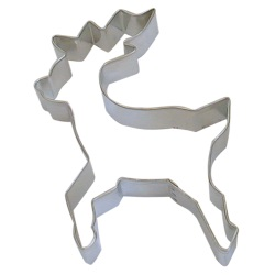 "Reindeer Cookie Cutter - Standing - 4"" LARGE"