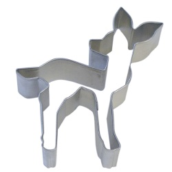 Deer (Fawn) Cookie Cutter LARGE
