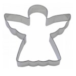 "Angel Cookie Cutter - 3 3/4"" THUMBNAIL"