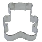 "Teddy Bear Cookie Cutter - 3"" THUMBNAIL"