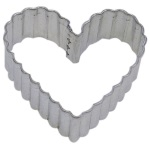 Heart Cookie Cutter - Fluted THUMBNAIL