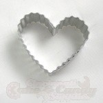 Heart Cookie Cutter - Fluted