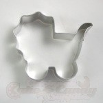 Baby Carriage w/Handle Cookie Cutter