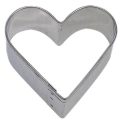 "Heart Cookie Cutter - 2"" LARGE"