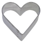 "Heart Cookie Cutter - 2"" THUMBNAIL"