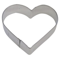 "Heart Cookie Cutter - 4"" LARGE"