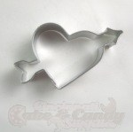 Heart w/Arrow Cookie Cutter