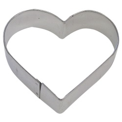 "Heart Cookie Cutter - 3"" LARGE"