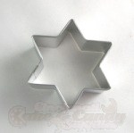 Star Of David Cookie Cutter - 2""