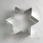 Star Of David Cookie Cutter - 4""
