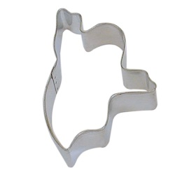 Ghost (Scary) Cookie Cutter LARGE