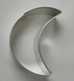 Crescent Cookie Cutter - 3""