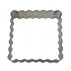 Square Fluted Cookie Cutter LARGE