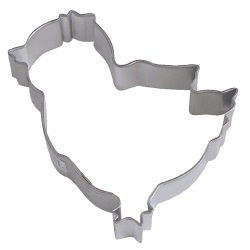 "Chicken Cookie Cutter - 3-3/4"" LARGE"