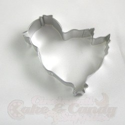 Chicken Cookie Cutter - 3-3/4""
