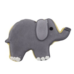 "Elephant Cookie Cutter - 3"" LARGE"