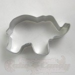 Elephant Cookie Cutter - 3""