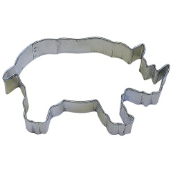 Rhinoceros Cookie Cutter LARGE