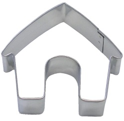 Dog House Cookie Cutter LARGE