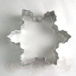 Snowflake Cookie Cutter - 4""