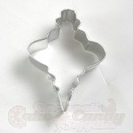 Christmas Ornament Cookie Cutter - Fancy Oval_THUMBNAIL