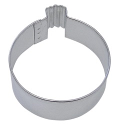 Christmas Ornament Cookie Cutter - Round LARGE