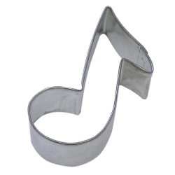 "Music Note Cookie Cutter - 3"" LARGE"