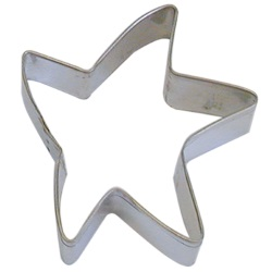 Star/Starfish (Folk Art) Cookie Cutter LARGE