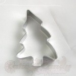 Christmas Tree (Folk Art) Cookie Cutter