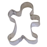 Gingerbread Boy (Folk Art) Cookie Cutter_THUMBNAIL