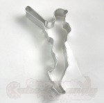 Baseball Player Cookie Cutter