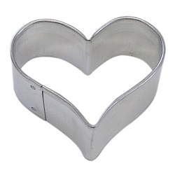 "Heart Cookie Cutter - 1-3/4"" LARGE"